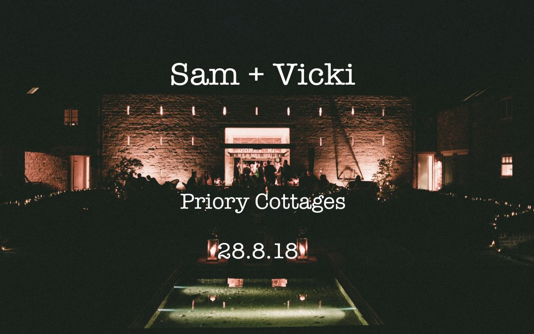 Sam and Vicki Priory Cottage Wedding